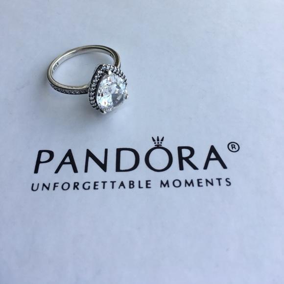 4cef0ee1f Pandora Jewelry | New Radiant Teardrop Ring | Poshmark